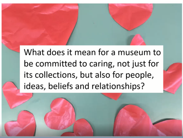 Quote from Manchester Caring Museum